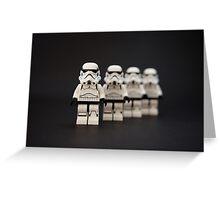 Trooper Parade Greeting Card