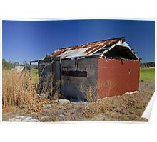 Abandoned shed Poster