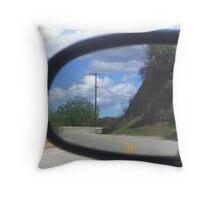 A drive through Mulholland Throw Pillow