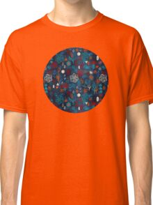Earth, Water, Fire, Air - a watercolor pattern Classic T-Shirt