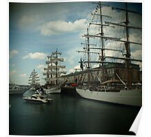 Boston Tall Ships Poster