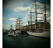 Boston Tall Ships Photographic Print