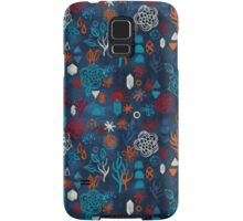 Earth, Water, Fire, Air - a watercolor pattern Samsung Galaxy Case/Skin