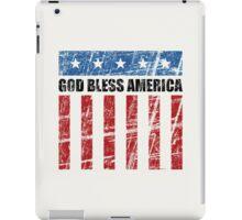 God Bless America iPad Case/Skin