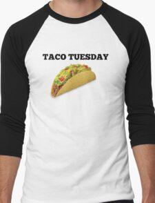 taco tuesday Men's Baseball ¾ T-Shirt