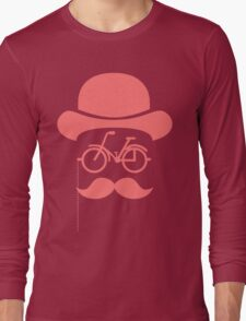 Retro cylinder bicycle Long Sleeve T-Shirt
