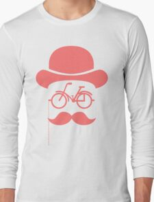 Retro cylinder bicycle Long Sleeve T-Shirt