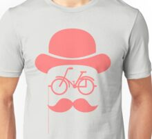 Retro cylinder bicycle Unisex T-Shirt