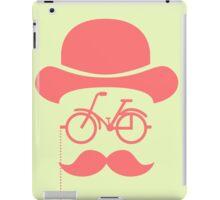 Retro cylinder bicycle iPad Case/Skin