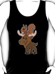 Moose, squirrel and cupcake T-Shirt