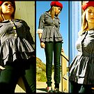 Gills and Tails- The Ruffle Shirt by Brooke Hyrapiet