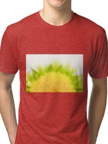 Green Solar Flares Tri-blend T-Shirt