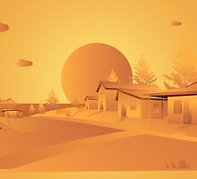 orange Mars by MrNicekat