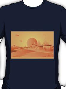 orange Mars T-Shirt
