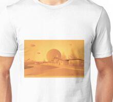 orange Mars Unisex T-Shirt
