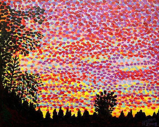 Bromarf Sunset by Alan Hogan
