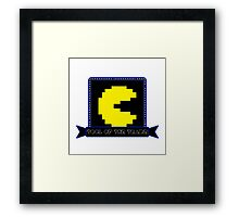 Tool of the Trade - Pac-man Framed Print