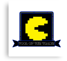 Tool of the Trade - Pac-man Canvas Print