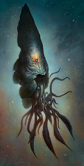 Yawanpok the Void Menace by Mark Facey