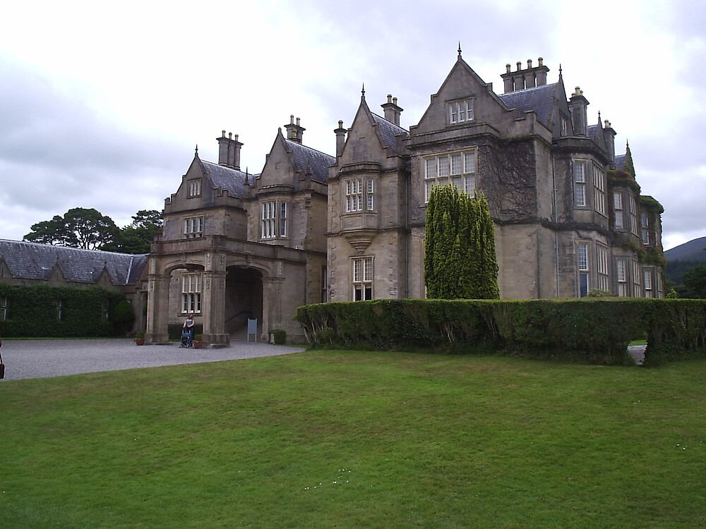 Muckross House Killarney Co Kerry by James Cronin