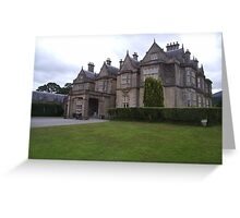 Muckross House Killarney Co Kerry Greeting Card