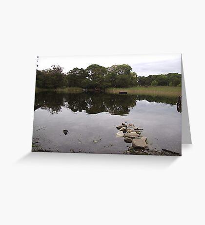 Killarney Lakes Killarney Co Kerry Ireland Greeting Card