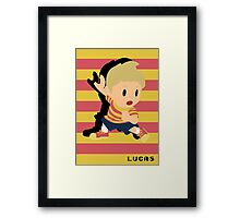 Lucas Smash Framed Print