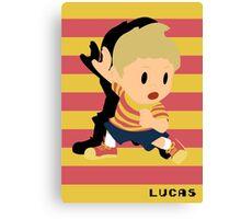 Lucas Smash Canvas Print