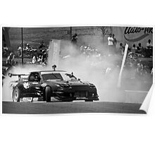 Federal 180 Drift Car Poster