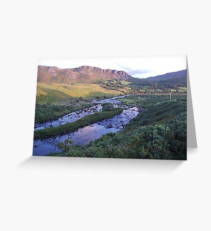 River Caragh Glenbeigh Co Kerry Ireland Greeting Card