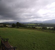 View from Aghadoe Killarney Co. Kerry by James Cronin
