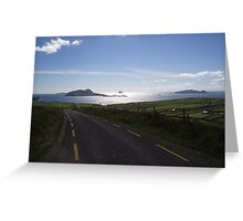 View to Blasket Islands Co. Kerry Greeting Card