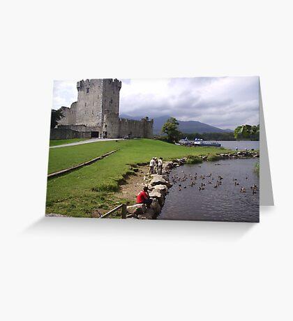 Ross Castle Killarney County Kerry Ireland Greeting Card