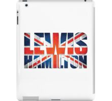 Lewis Hamilton - British Flag iPad Case/Skin