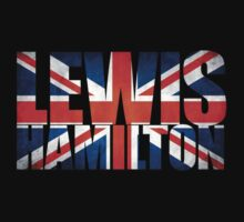 Lewis Hamilton - British Flag Kids Clothes