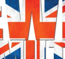 Lewis Hamilton - British Flag Sticker