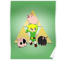 The Wind Waker Pigs Poster