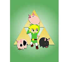 The Wind Waker Pigs Photographic Print
