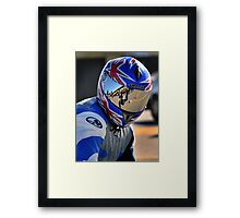 What are you looking at! Framed Print
