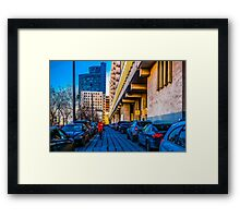 Business Day Framed Print