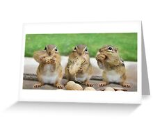 "Say ""Cheese"" (or Peanuts) Greeting Card"