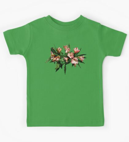 Asiatic Lilies and Leaves Kids Tee