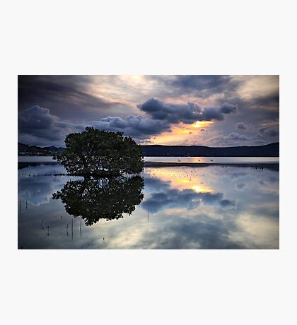 Reflections at Days End Photographic Print