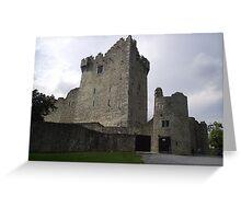 Ross Castle Killarney Kerry Ireland Greeting Card