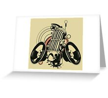 Music art Greeting Card