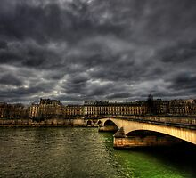 Pont Royal by Max Bursac