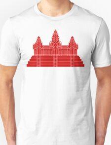 Angkor Wat Ver.2.0 Khmer Temple Unisex T-Shirt
