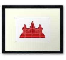Angkor Wat Ver.2.0 Khmer Temple Framed Print