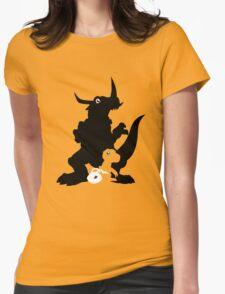 Koro-Agu-Greymon Womens Fitted T-Shirt