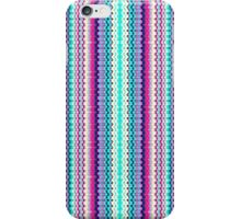 Bright Colorful Tiny Abstract Zigzag Pattern iPhone Case/Skin